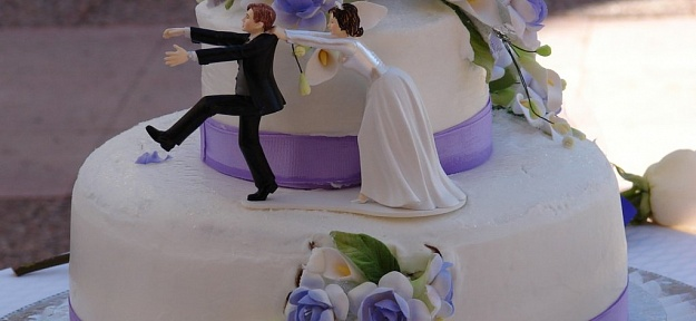 Торты на заказ свадьба фото